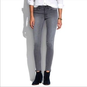 Grey Madewell Skinny Skinny Jeans, 30